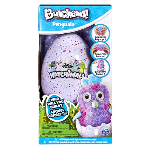 Bunchems 6041479 - Hatchimals Penguala Kreativ Set