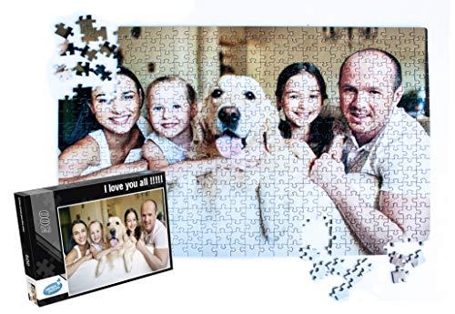 Fotopuzzle 500 Teile, Individuelles Puzzle mit eigenem Foto, Puzzle mit eigenem Bild selbst gestalten (500 Teile)