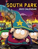South Park 2022 Calendar: Jul 2021 - Dec 2022, 18-month Grid Calendar 8.5x11 inches for teens and adults.