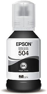Tinta para Impressora Epson Bulk Ink T504 | T504120 Black Original 130ml