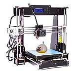 CTC Kit stampante 3D fai da te,Versione aggiornata Prusa I3,stampanti 3D desktop,supporto per...