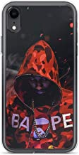 iPhone Xs Max Pure Clear Case Cases Cover PnB Rock Bape Fire