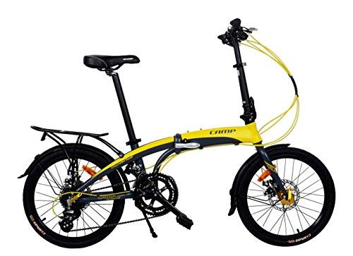CAMP Adult Folding Bike for Men Women 20 inch...