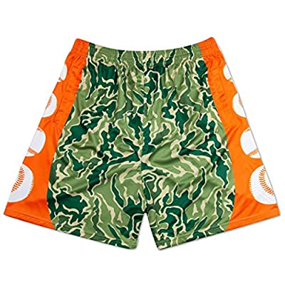 Premium Baseball Athletic Shorts | Hunter Camo | Youth Large