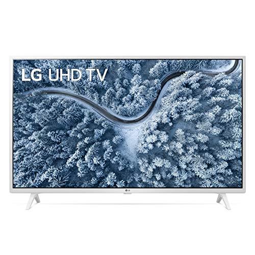 "LG 43UP76906LE Smart TV LED 4K Ultra HD 43"" 2021 con Processore Quad Core 4K, Wi-Fi, webOS 6.0, FILMMAKER MODE, Game Optimizer, Google Assistant e Alexa Integrati, 2 HDMI 2.0, Telecomando Puntatore"