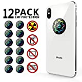 TAGCMC EMF Protection Cell Phone for Radiation - Neutralizer Sticker Shield Blocker - Anti EMF for All Electronics Laptops, Tablets, TVs -12 Pack!!