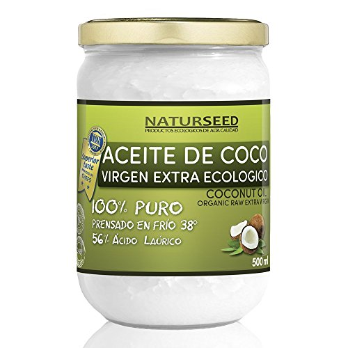 Organic Coconut Oil Extra Virgin 500 ml - FREE Ebook - Cold Press...