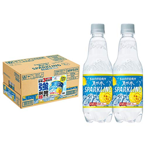 【Amazon.co.jp 限定】サントリー 天然水スパークリングレモン 強炭酸超実感パック工場出荷後最短3日お届け...