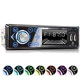 XOMAX XM-R272 Autoradio avec Connexion la Bluetooth et Musique I FM I Port USB (jusqu'à 128 GB) et Fente pour Cartes SD (jusqu'à...