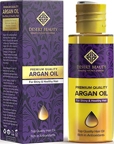 Premium Argan Oil for Hair Treatment, Conditioning & Hair Loss Prevention, Provides Anti-Aging Properties (120 ML/4 OZ) Moroccan Oil Formula for Healt