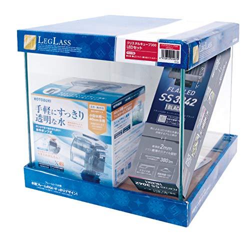 寿工芸 クリスタルキューブ 300 LEDセット