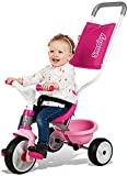 Zoom IMG-2 smoby pink comfort trike con