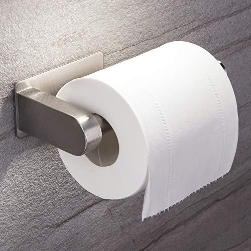 Ruicer Portarrollos Baño Adhesivo - Portarrollos para Papel Higiénico Porta Papel Higienico de SUS 304 Acero Inoxidable