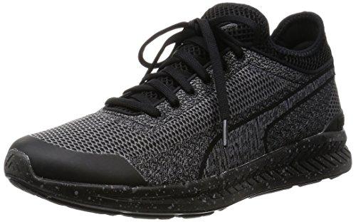 Puma Ignite Sock Woven Herren Sneaker schwarz-schwarz - 8,5