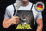 Shirtoo Grillschürze/Kochschürze - Ich Bin Dein Brater - 2