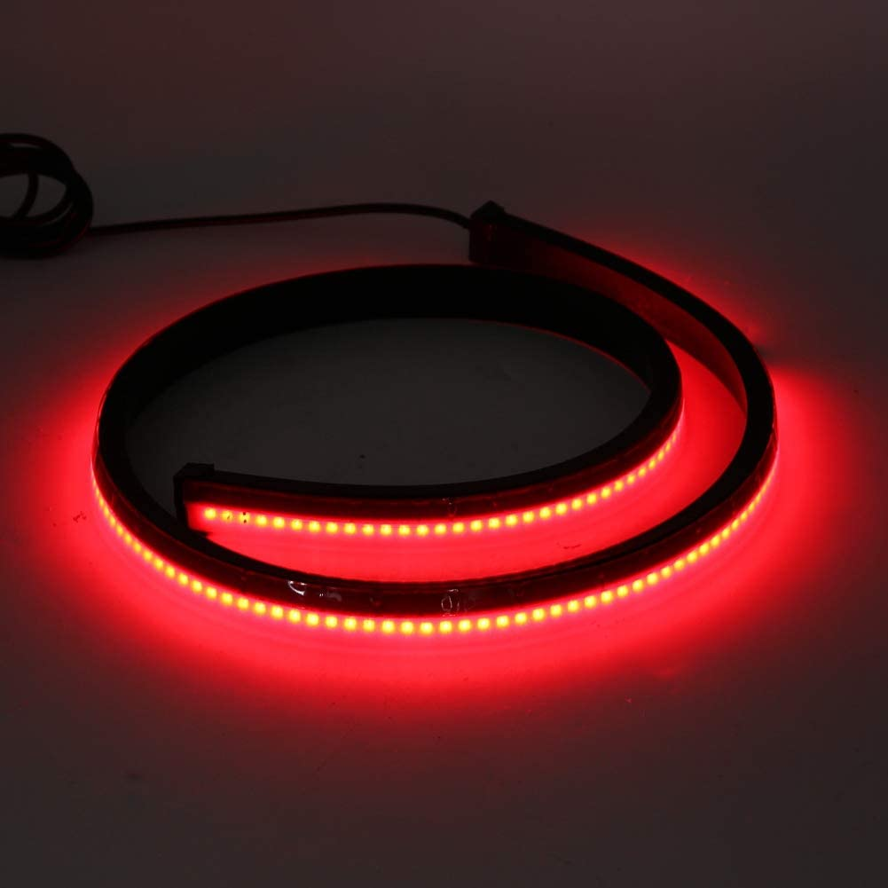 Aramox High Brake Light,Car Rear High Position Brake Stop Lights Strip Turn Signal Warning LED Lamp Single Mode