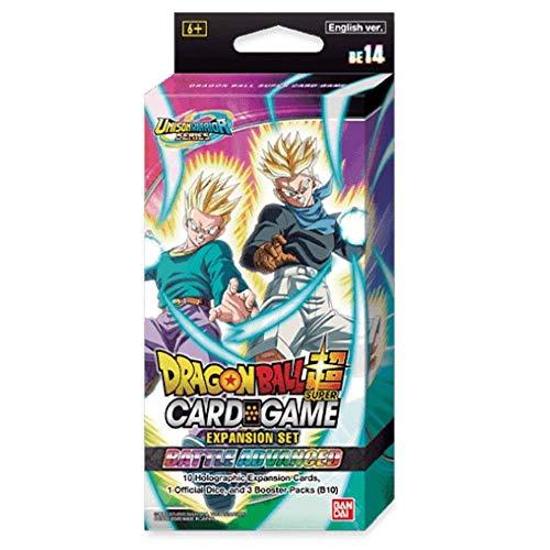 Dragon Ball Super Kartenspiel: Expansion Deck Set BE14 - Battle Advanced, gemischte Farben