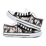 Q4S Demon Slayer Zapatos De Suela Gruesa para Hombres Y Mujeres Zapatos De Verano para Mujeres Zapatos Casuales De Lona De Anime para Hombres Y Mujeres Calzado Deportivo,42