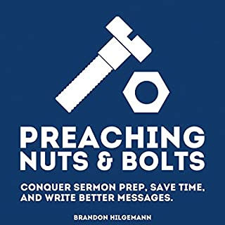 Preaching Nuts & Bolts audiobook cover art