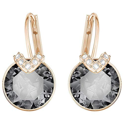 Swarovski Bella V Gray Small Pierced Earrings 5299317