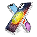 iPhone 11 Clear Case Tennis Soft Ultra-Thin Shock Absorption Protective Case for iPhone 11