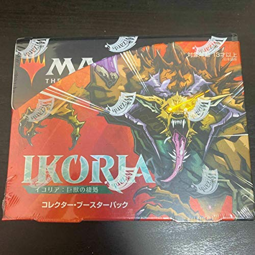 Magic: The Gathering Ikoria: Lair of Behemoths Japanese Collector Booster Pack Display