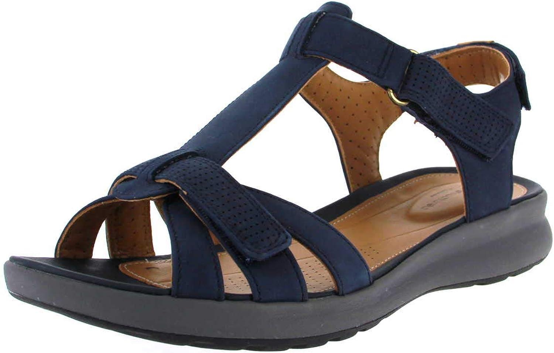 Clarks Damen Sandaletten 261417214 blau 663340