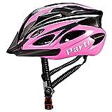 Parti Fahrradhelm Damen MTB Helm, Mountainbike Helm Fahrrad Helm mit Visor - Rosa