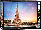 EuroGraphics- Paris Eiffel Tower Puzzle (1000-Piece) Rompecabezas (6000-0765)
