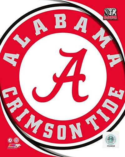 Alabama Crimson Tide NCAA 8x10 Photograph Team Logo