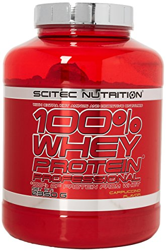 100% Whey Protein Professional 5 lb (2350g) Cappuccino
