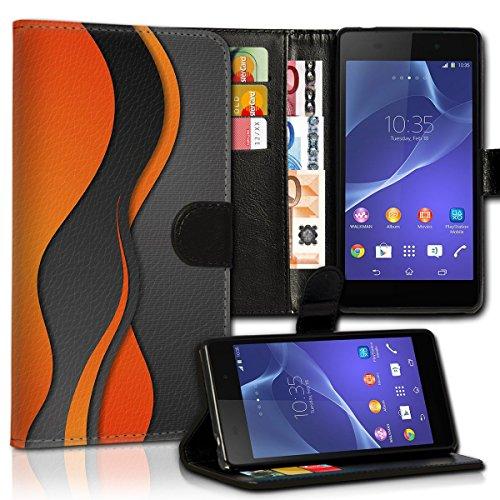 wicostar Wallet Book Style Flip Handy Tasche Case Schutz Hülle Schale Motiv Etui für Wiko Rainbow Jam - Variante UMV39 Design6