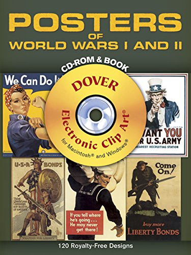 Compare Textbook Prices for Posters of World Wars I and II CD-ROM and Book Dover Electronic Clip Art  ISBN 9780486996844 by Dover