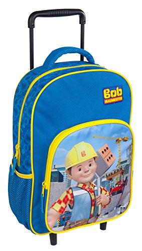 Undercover BODB8126 Bob de Bouwer, trolley voor kinderen, ca. 36 x 25 x 10 cm.
