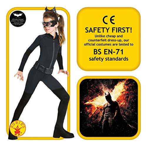 Rubies - Batman Catwoman - Costume Bambini, Blu Scuro (Navy), 8-10 anni
