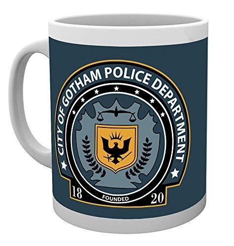 GB Eye DC Comics Gotham Police Badge Becher, Mehrfarbig