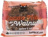 Kookie Cat  Cacao nibs and walnut, Organic vegan cachew / oat cookie, 12er Pack (12 x 0.05 kg)