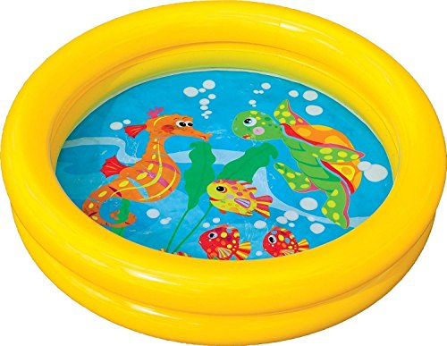 Unibos Baby Pool Toddler Kids Childrens Inflatable Swimming Paddling Ring Pool Toy