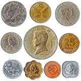 10 Different Coins from Philippines. Old Collectible Filipino Money: Sentimos, Piso. Perfect Choice for Your Coin Bank, Holders or Album