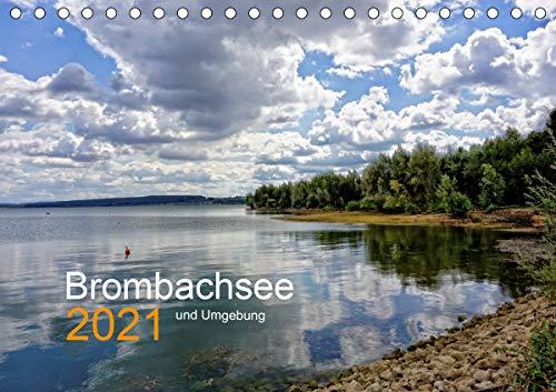 Brombachsee und Umgebung (Tischkalender 2021 DIN A5 quer)