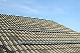 Estructura completa de montaje sobre la rejilla de aluminio para paneles solares térmicos planos (1, estructura superior de la rejilla 6 paneles solares térmicos).
