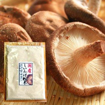 しいたけ粉末40g メール便 袋タイプ 椎茸 茶 料理 パウダー シイタケ