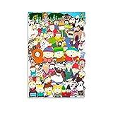 Cartoon Anime Poster South Park Poster Dekorative Malerei
