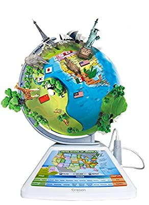 Oregon Scientific SG268R Smart Globe Adventure AR Educational World Geography Kids - Learning Toy by Oregon Scientific - OL - pallet ordering