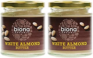 (2 Pack) - Biona - Organic White Almond Butter   170g   2 PACK BUNDLE