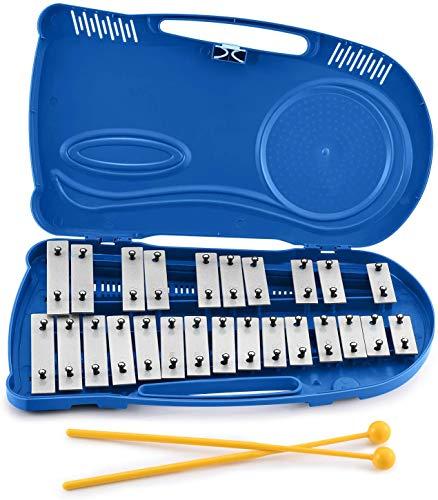 Eastar Glockenspiel Kinder Xylophon 25 Tönen mit Schlägeln