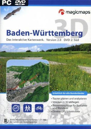 Baden-Württemberg 3D Süd Version 2.0