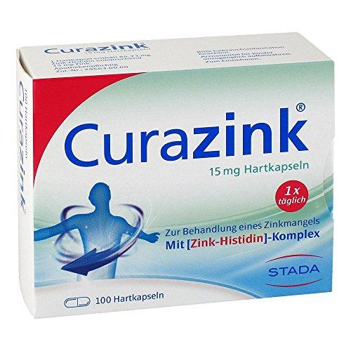 Curazink 15 mg Hartkapseln, 100 St. Kapseln