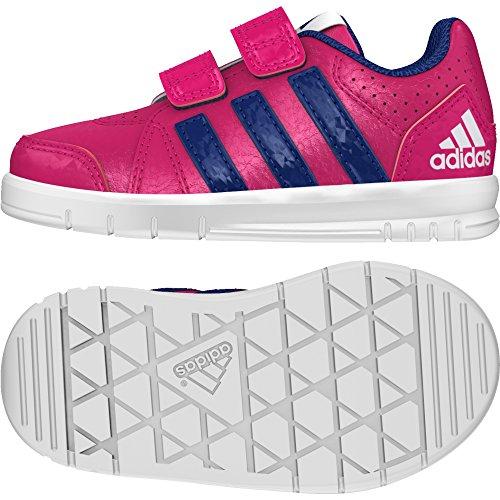 adidas Mädchen LK Trainer 7 CF I Sneaker, Rosa Rosfue Tinuni Ftwbla, 25 EU