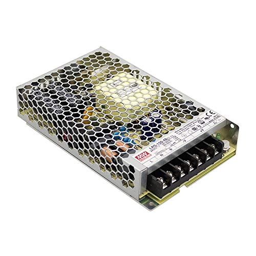ledbox Fuente de alimentación 24V/150W/6,5A Mean Well LRS-150-24